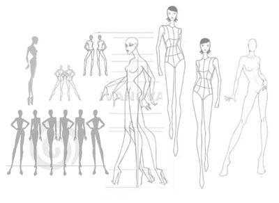 Printable Fashion Design Models Suyhi Margarethaydon Com