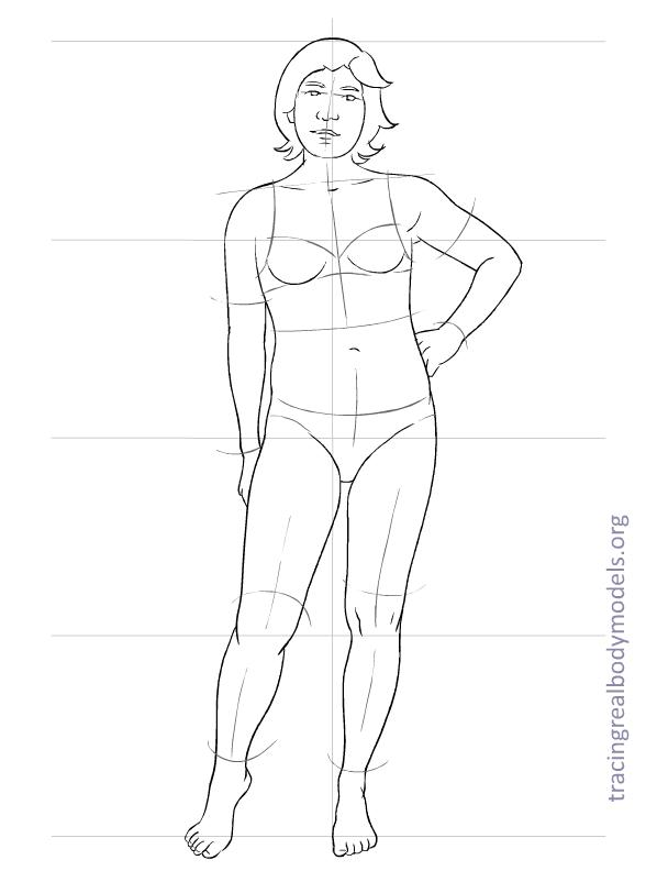 Tracing Real Body Models