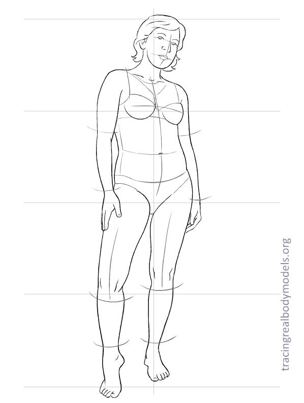 Tracing real body models an alternative to the stereotypical realmodels templates 0016 maxwellsz