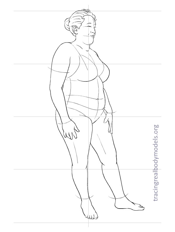 New Fashion Figure Templates - m 17