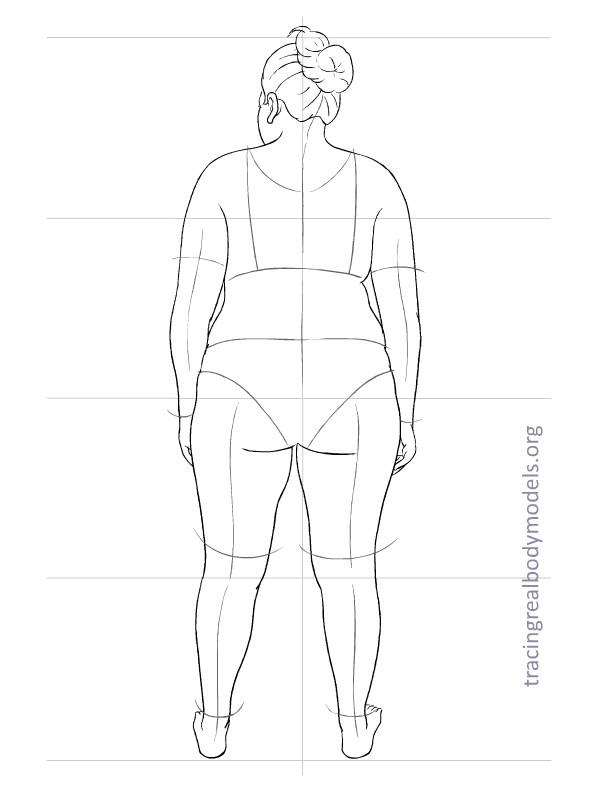 New Fashion Figure Templates - m 21