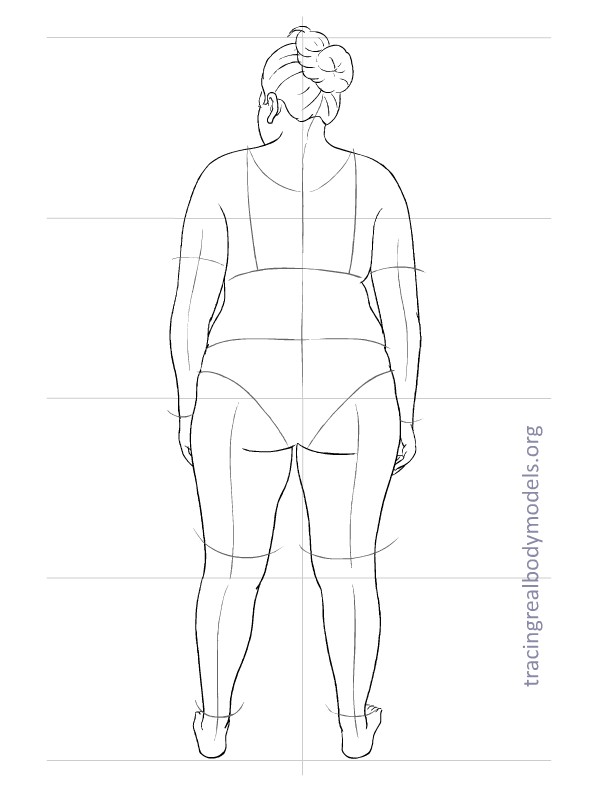 Tracing real body models an alternative to the stereotypical fashion figure template 0006 maxwellsz