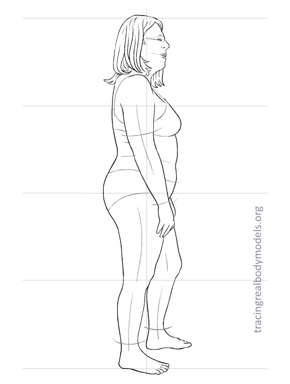 Tracing Real Body Models An alternative to the stereotypical