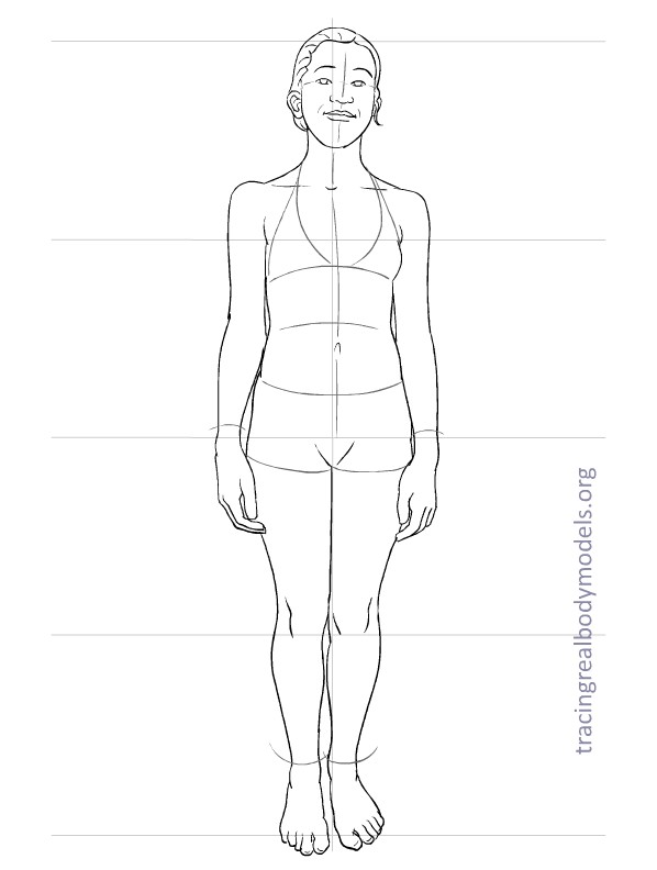 Fashion Figure Template 0028
